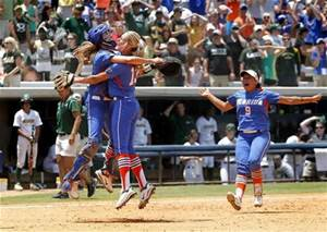 florida softball